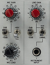 vocal mic preamp