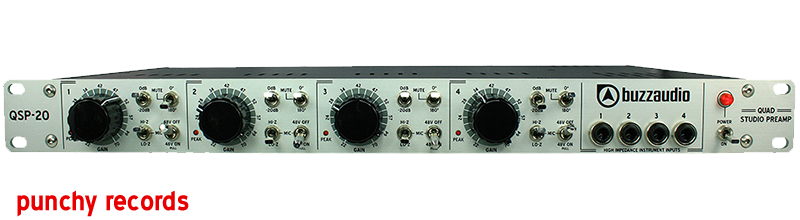 QSP-20 4 channel preamp